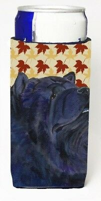 Carolines Treasures SS4355MUK Chow Chow Fall Leaves Portrait Michelob Ultra