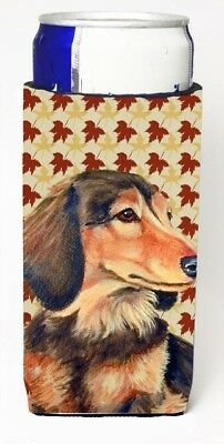 Carolines Treasures LH9121MUK Dachshund Fall Leaves Portrait Michelob Ultra s