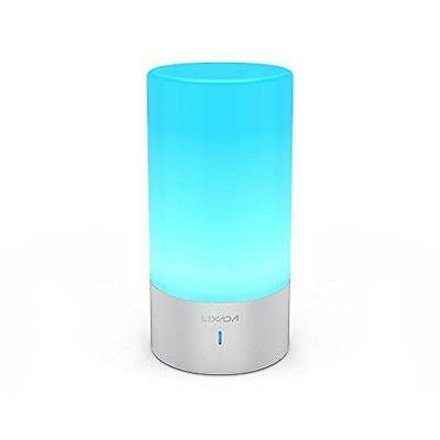Colour Changing LED Touch Lamp Dimmable Bedside Desk Reading Light Mood Lighting