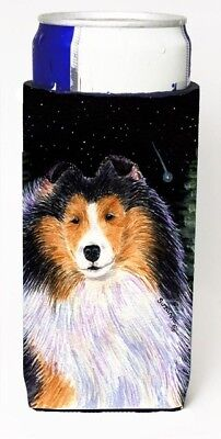 Carolines Treasures SS8491MUK Starry Night Collie Michelob Ultra bottle