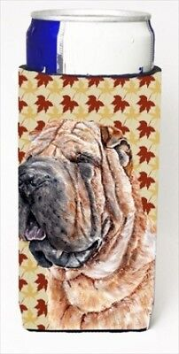 Carolines Treasures SC9671MUK Shar Pei Fall Leaves Michelob Ultra bottle