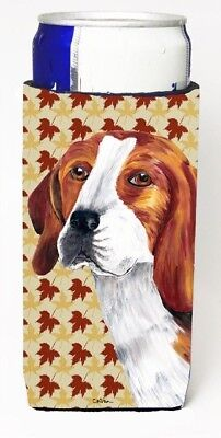 Carolines Treasures SC9209MUK Beagle Fall Leaves Portrait Michelob Ultra s For
