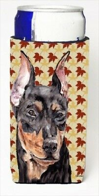 Carolines Treasures SC9692MUK German Pinscher Fall Leaves Michelob Ultra