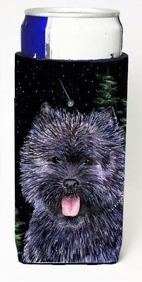 Carolines Treasures SS8494MUK Starry Night Cairn Terrier Michelob Ultra bottle