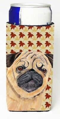 Carolines Treasures SC9211MUK Pug Fall Leaves Portrait Michelob Ultra s For
