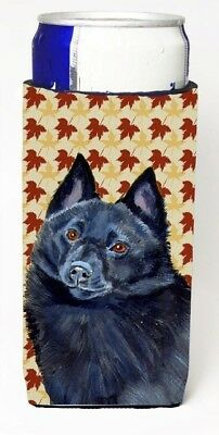 Carolines Treasures LH9114MUK Schipperke Fall Leaves Portrait Michelob Ultra s