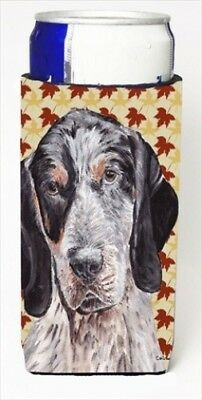 Carolines Treasures SC9673MUK Blue Tick Coonhound Fall Leaves Michelob Ultra