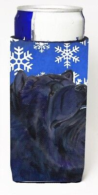 Carolines Treasures SS4639MUK Chow Chow Winter Snowflakes Holiday Michelob