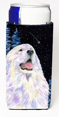 Carolines Treasures SS8466MUK Starry Night Great Pyrenees Michelob Ultra