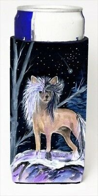 Carolines Treasures SS8390MUK Starry Night Chinese Crested Michelob Ultra