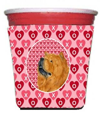 Carolines Treasures SS4502RSC Chow Chow Red Solo Cup bottle sleeve Hugger