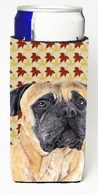 Carolines Treasures SC9225MUK Mastiff Fall Leaves Portrait Michelob Ultra