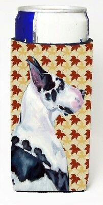Carolines Treasures LH9101MUK Great Dane Fall Leaves Portrait Michelob Ultra s