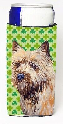 Carolines Treasures LH9185MUK Cairn Terrier St. Patricks Day Shamrock Portrait