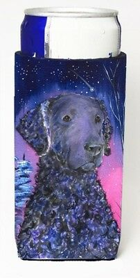 Carolines Treasures SS8354MUK Starry Night Curly Coated Retriever Michelob