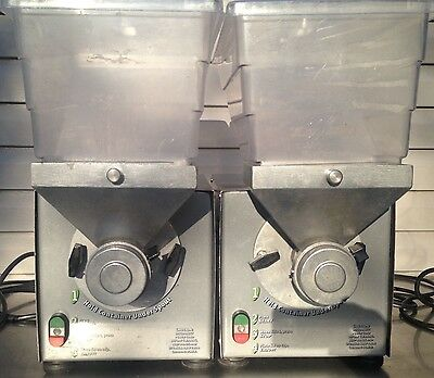 2 Used Olde Tyme Hampton Farms PN2 Commercial Nut Butter Grinders 115V 16A