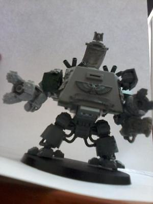 Warhammer 40k Space Marines Conversion Ironclad Drednought