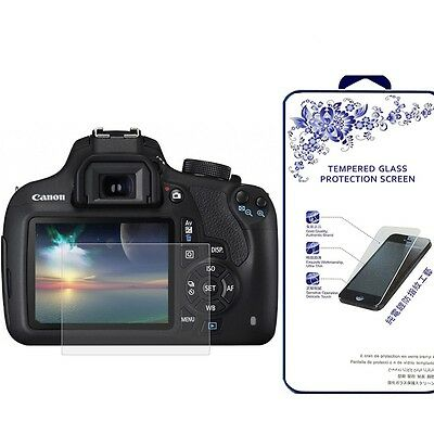 Ballistic Tempered Glass Screen Protector For Canon EOS 1200D /1300D