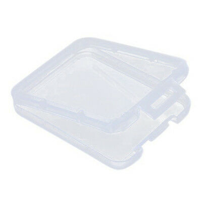 10pcs TF Micro SD SDHC MMC CF Memory Card Plastic Clear Holder Box Storage Case