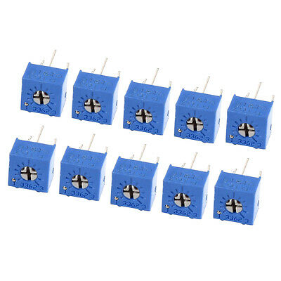 10 Pcs Potentiometer Trimmer Variable Resistor 3362P-103 10K Ohm