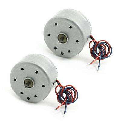 2PCS RC300 6000RPM DC 1.5-9V Micro Motor for CD DVD Player