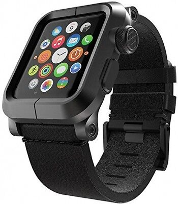 LUNATIK EPIK Aluminum Case And Leather Strap For Apple Watch Series 1,