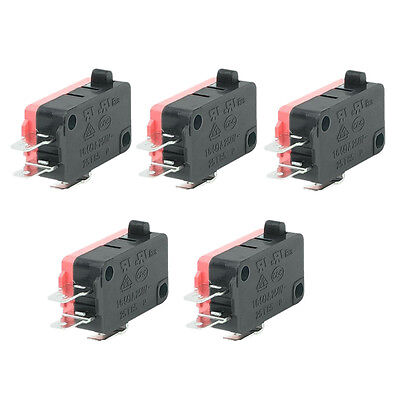 16A 250VAC 4A 250VAC Srew Connector Actuator Limit Micro Switch 5 Pcs