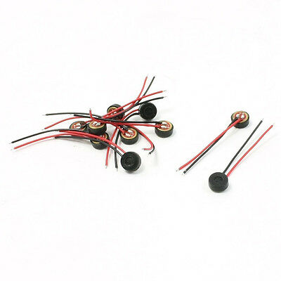 10pcs Electret Condenser MIC 4mm x 2mm for PC Phone MP3 MP4