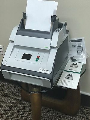 One Pristine Genuine OEM Formax 6102 Office Tabletop Paper Folder and Inserter