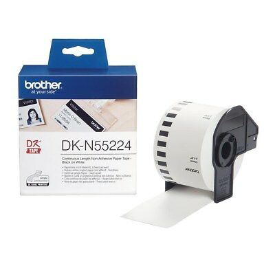 Brother DK Labels DK-N55224 (54mm x 30.5m) Continuous Non-Adhesive Paper