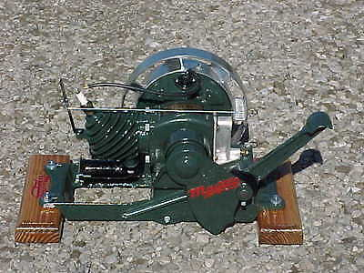 Vintage Restored 1929 Maytag Gas Engine Motor Hit Miss Wringer Washer