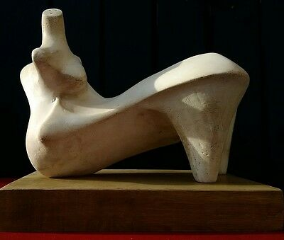 Maquette based on Henry Moore's Reclining Figure: Points of 1969.