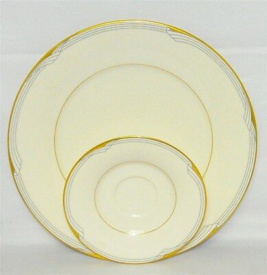 Noritake Golden Cove Dinner Plate And Saucer