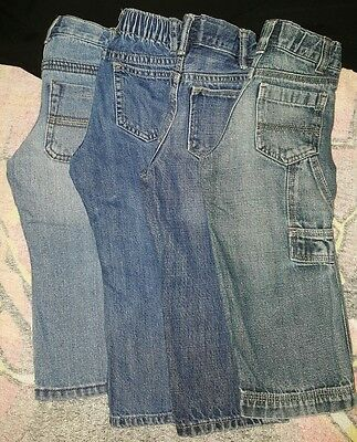 Toddler boys jeans size 2T Lot of 4 **EUC**