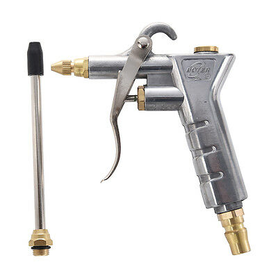 Silver Tone Duster Cleaning Tool Nozzle Air Blow Gun
