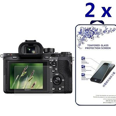 [2x] Tempered Glass Screen Protector For Sony RX100/A7M2/A7R/A7R2