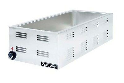 Adcraft FW-1500W Countertop 1500W Food Warmer W/ 4 - 3rd Pan Capacity
