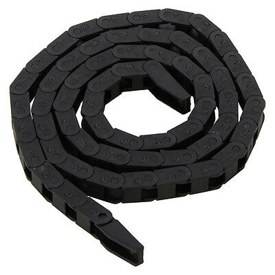 Machine Tool 7 x 7.3mm Cable Carrier Drag Chain Nested