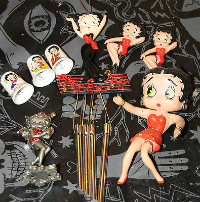 Betty Boop collection, over 70 items - dolls, figurines, ornaments, mugs & MORE
