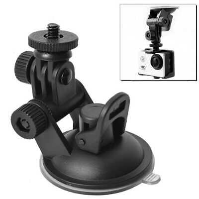 Supporto Treppiede Con Ventosa Auto per Gopro Hero 1/2/3/3+/4/5 Camera Nero 360º