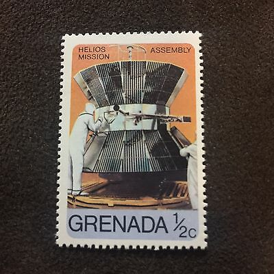 Grenada Stamp Helios Mission Assembly