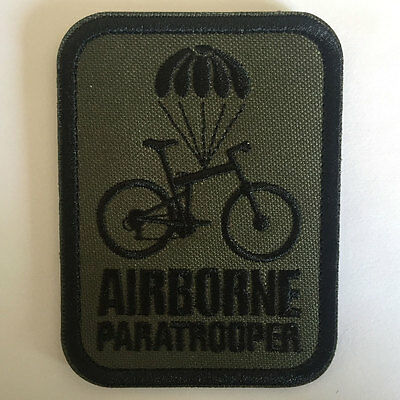 Airborne Paratrooper USA Military Tactical Morale Emblem Medal Badge Decal Patch