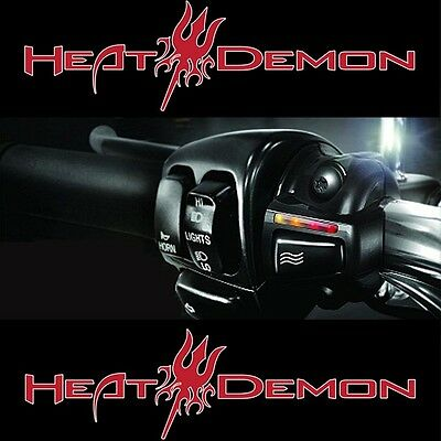 HEAT DEMON USA Griffheizung f. Harley Davidson Road King NEU 4 stufig LED
