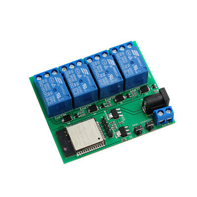 ESP32 4 Channel 3 Meter Wifi Bluetooth Relay Module 6V 0.6A for iPhone Android
