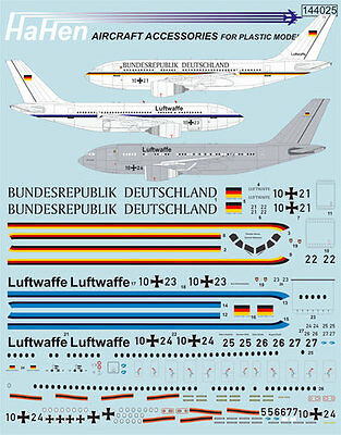 Decals 1:144 Airbus A-310-304