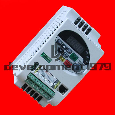 1.5KW Vector Frequency Inverter Single Phase Frequency Inverter SVPWM 220V