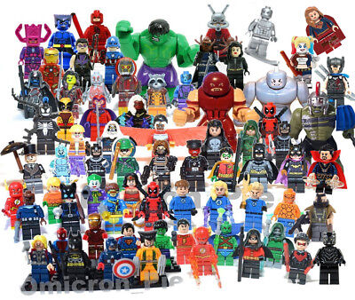 NEW! Minifigures Super Hero Toy Mini Figures Lego [CHOOSE]
