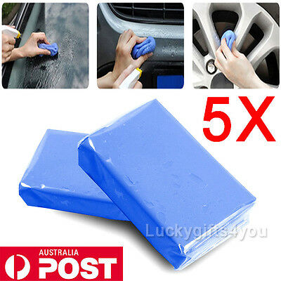 AU 5x Magic Car Clean Clay Cleaning Truck Auto Vehicle Bar Mud Detailing Cleaner