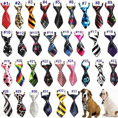 Lovely Pet Children Collar Floral Polyester Stain Necktie Adjustable Neck Ties