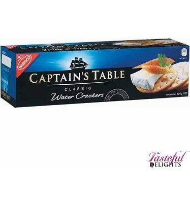 Nabisco Captains Table Classic 125g